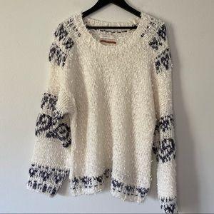 Anthro Pilcro Crew Neck Sweater